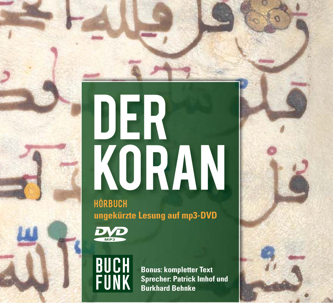 Der Koran / Qur'an - Hörbuch-Cover